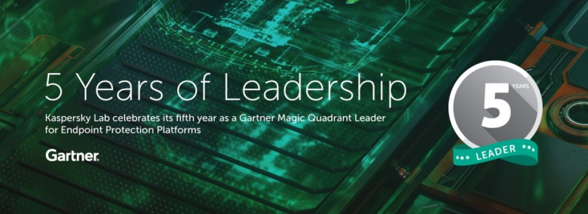 Partnering with five years of leadership – Kaspersky
